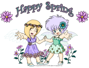 Spring - Yuri and Suzu - upload